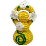 Deusinha de Crochê - Amarelo