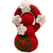 Deusinha de Crochê - Vermelha