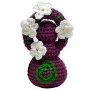 Deusinha de Crochê - Roxa