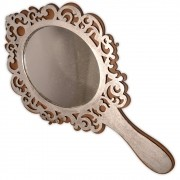 Espelho Mágico - Prateado