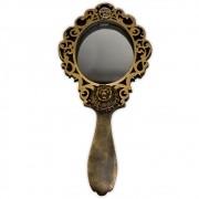 Espelho em resina - Leão dourado (1)