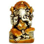 Ganesha Sentado - Envelhecido