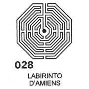 Gráfico Labirinto D'Amiens PVC 2200