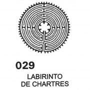 Gráfico Labirinto de Chartres PVC 2200