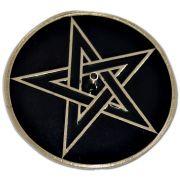 Incensário Pentagrama Prateado