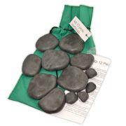 Kit 12 Pedras Turbinado - Basalto Vulcânico
