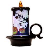 Luminária Vela Halloween com LED - modelo 1