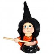 Margareth, a Bruxinha do Caldeirão Mágico - Laranja