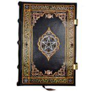 Book Of Shadows Encadernação Medieval 250pg. - Modelo 5