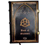 Book Of Shadows Encadernação Medieval 250pg. - modelo 6