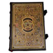 Book Of Shadows Encadernação Medieval 250pg. - Pentagrama 2