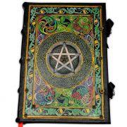 Book Of Shadows Encadernação Medieval 250pg. - Pentagrama 3