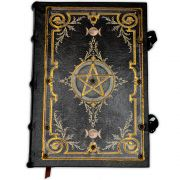 Book Of Shadows Encadernação Medieval 250pg. - Pentagrama 4