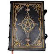 Book Of Shadows Encadernação Medieval 250pg. - Pentagrama 5