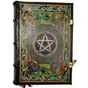 Novo Book Of Shadows Encadernação Medieval 900pg. - Pentagrama