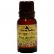 Essência com Óleo Essencial Pimenta Rosa - Beleza e Bem-Estar