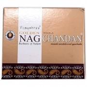 Incenso Cone de Massala Nag Chandan - Riquezas da Natureza (para incensário cascata)