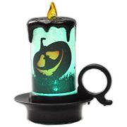 Luminária Vela Halloween com LED - modelo 2