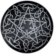 Pentáculo 20cm - Prateado