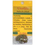Pedra de Coleção Unakita - Virtude