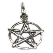 Pingente de Prata de Lei (prata 950) - Pentagrama mod. 16