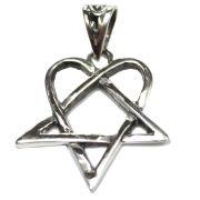 Pingente de Prata de Lei (prata 950) - Pentagrama mod.7