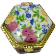 Potinho de cerâmica para Unguento - Hexagonal
