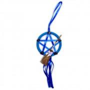Protetor de Porta Pentagrama - Azul