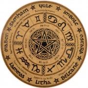 Roda do Ano 25cm mod. 3 - Pentagrama Céltico
