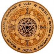 Roda do Ano 25cm - Pentagrama Céltico