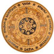 Roda do Ano 25cm - Sol e Lua 2