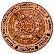 Roda do Ano/ Signos do Zodíaco 25cm
