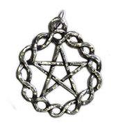 Talismã Wicca Pentagrama - Céltico Grande, Amuleto de Proteção