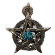 Talismã Wicca Pentagrama - Medieval Swarovski, Amuleto de Proteção