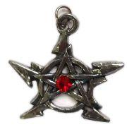 Talismã Pentagrama - Raio Swarovski