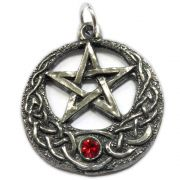 Talismã Pentagrama Royal Swarovski