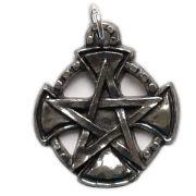 Talismã Wicca Pentagrama - Templários, Amuleto de Proteção