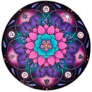 Toalha Emborrachada para Altar Mandala mod. 1