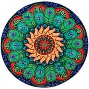 Toalha Emborrachada para Altar Mandala mod. 8