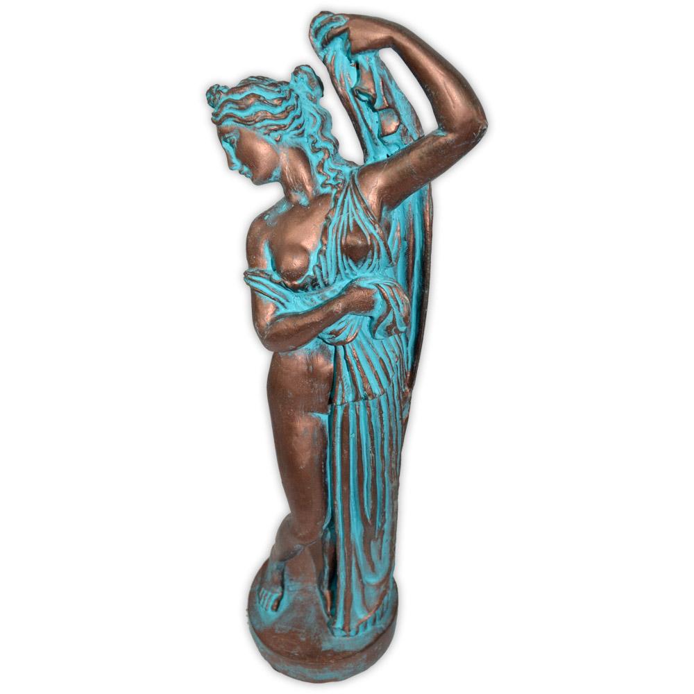 Afrodite Genitrix, a Deusa Geradora - Cobre Envelhecido