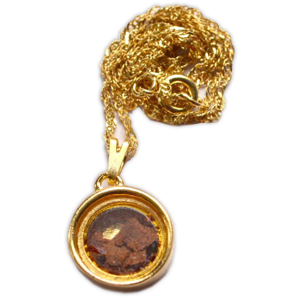 Amuleto Canela - Dourado Médio