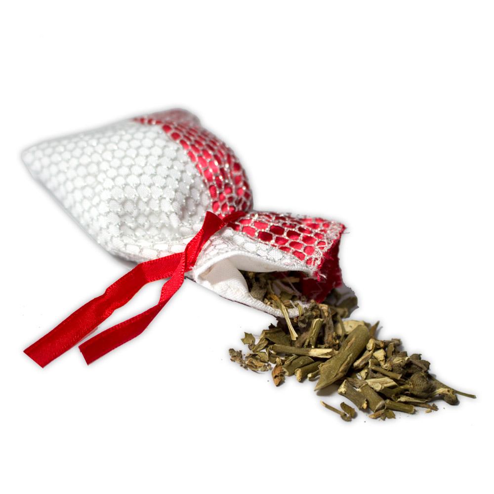 Amuleto com Ervas - Proteção