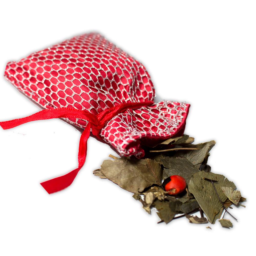 Amuleto com Ervas - Proteção da Casa
