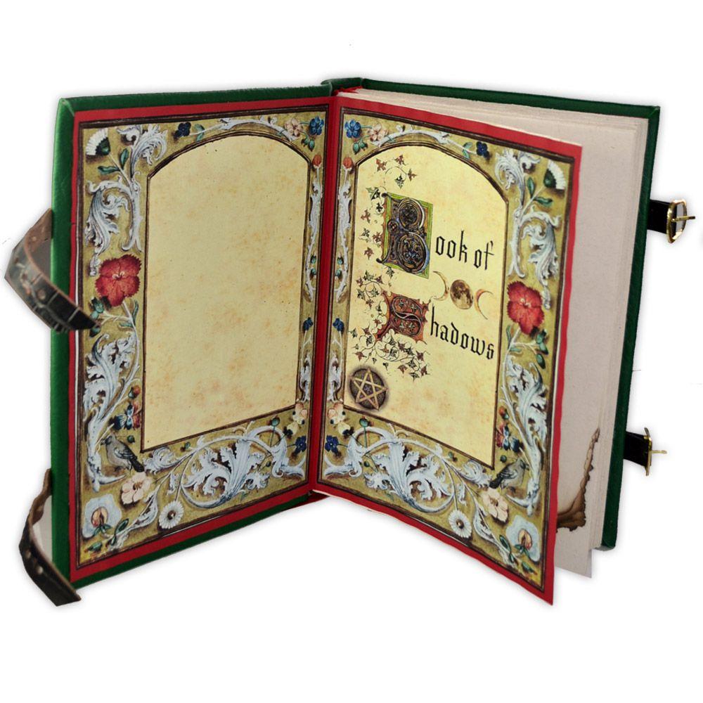 Book Of Shadows - encadernação medieval