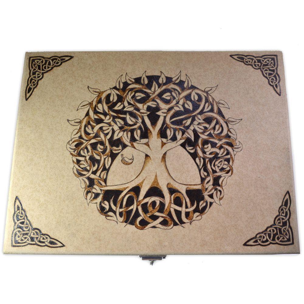 Caixa com Divisórias - Árvore da Vida