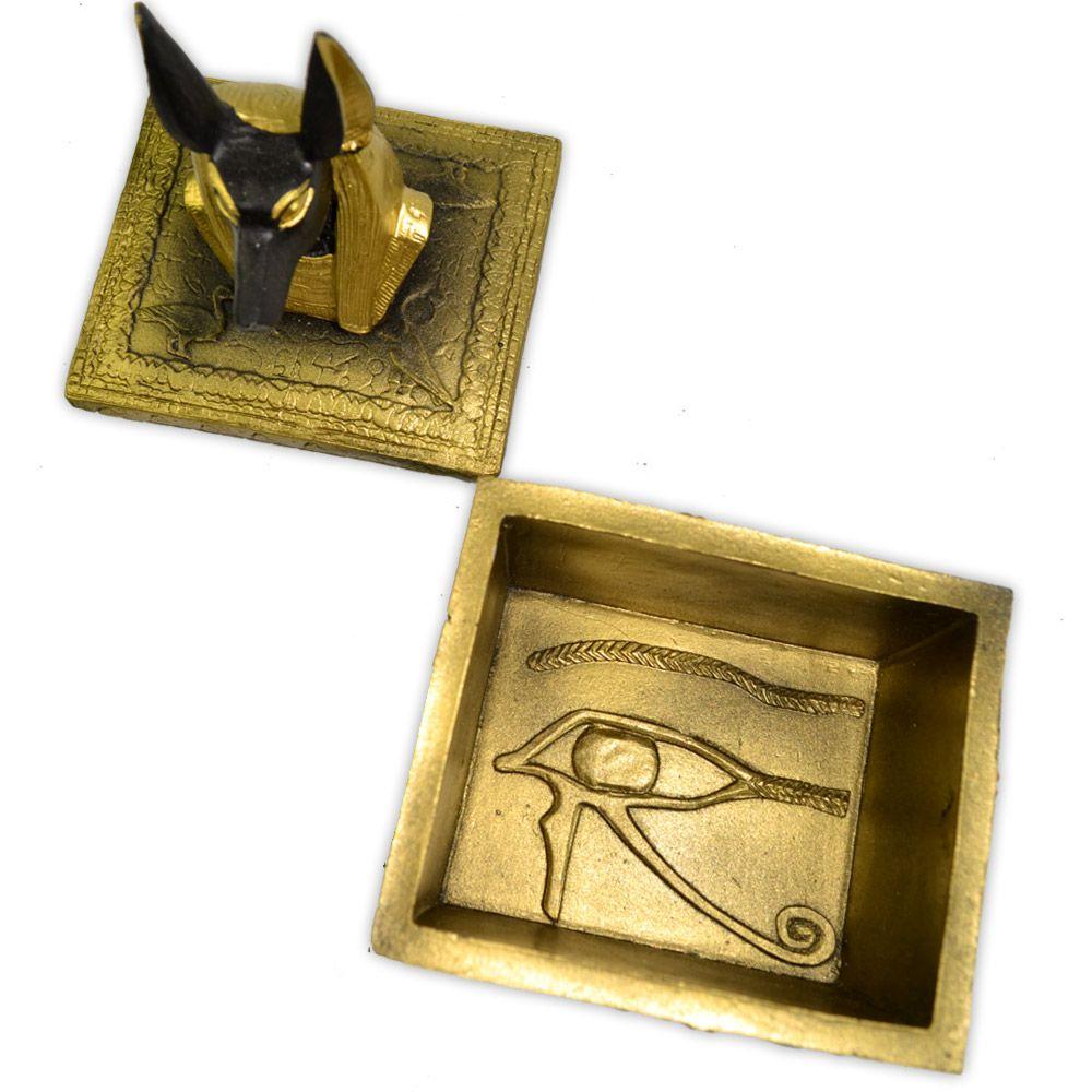 Caixa Egípcia - Anúbis