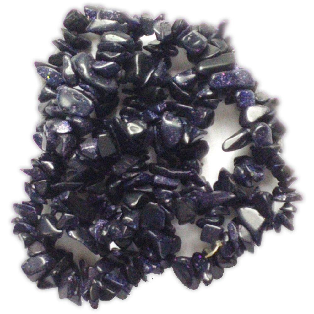 Colar de Pedras Naturais - Pedra Estrela