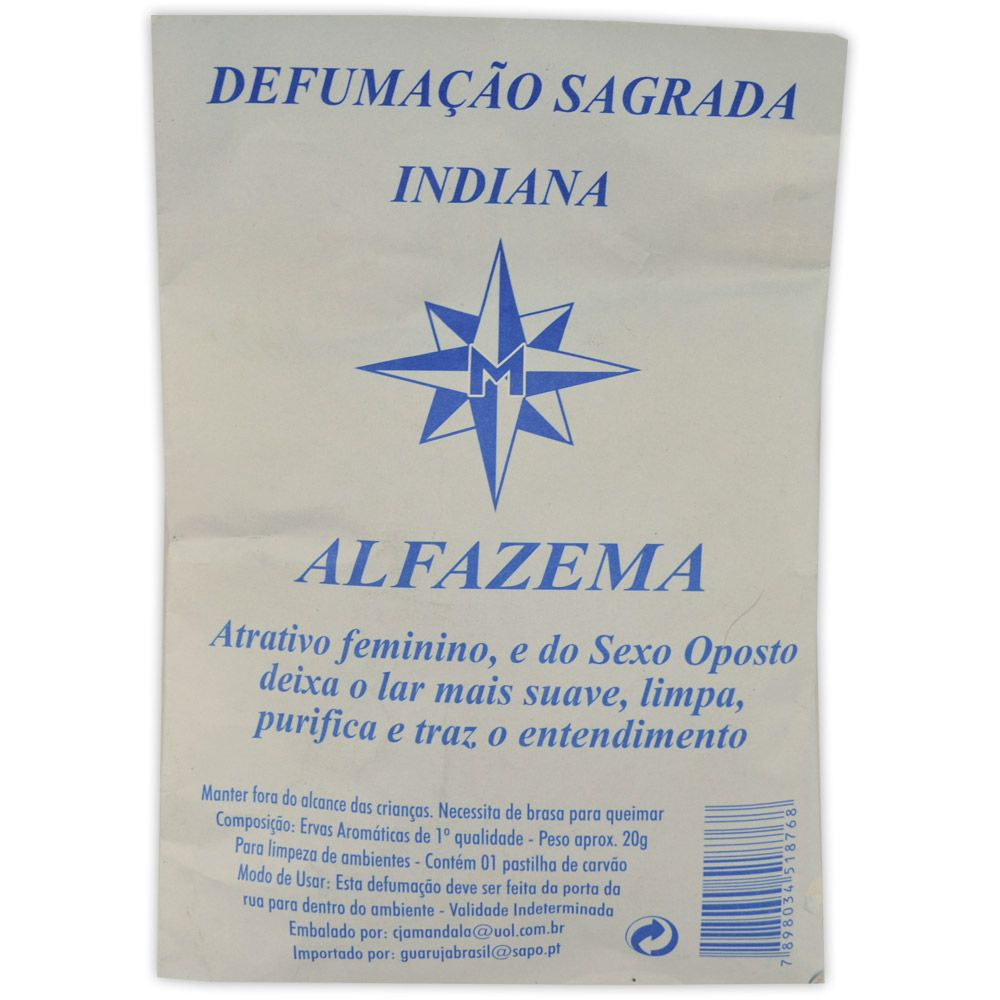 Defumação Sagrada Indiana Alfazema - Purificação
