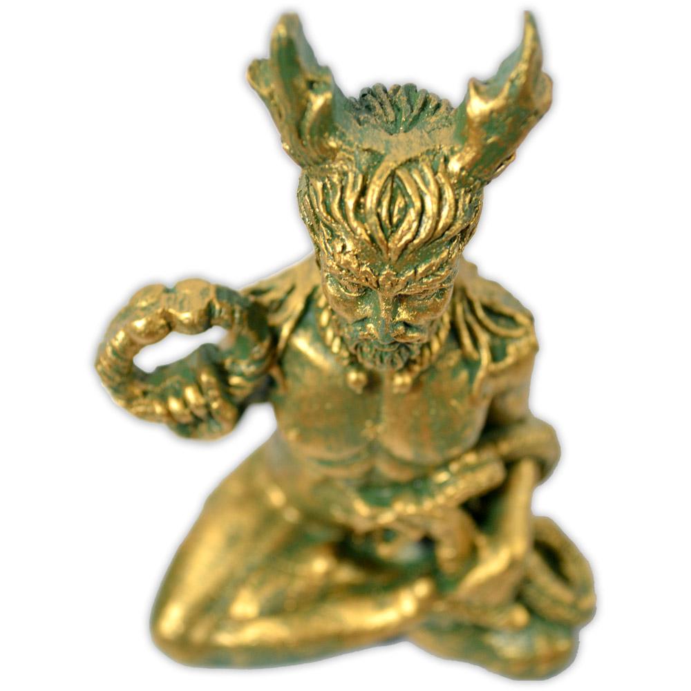 Cernunnos, Senhor dos Animais Selvagens - Verde Dourado