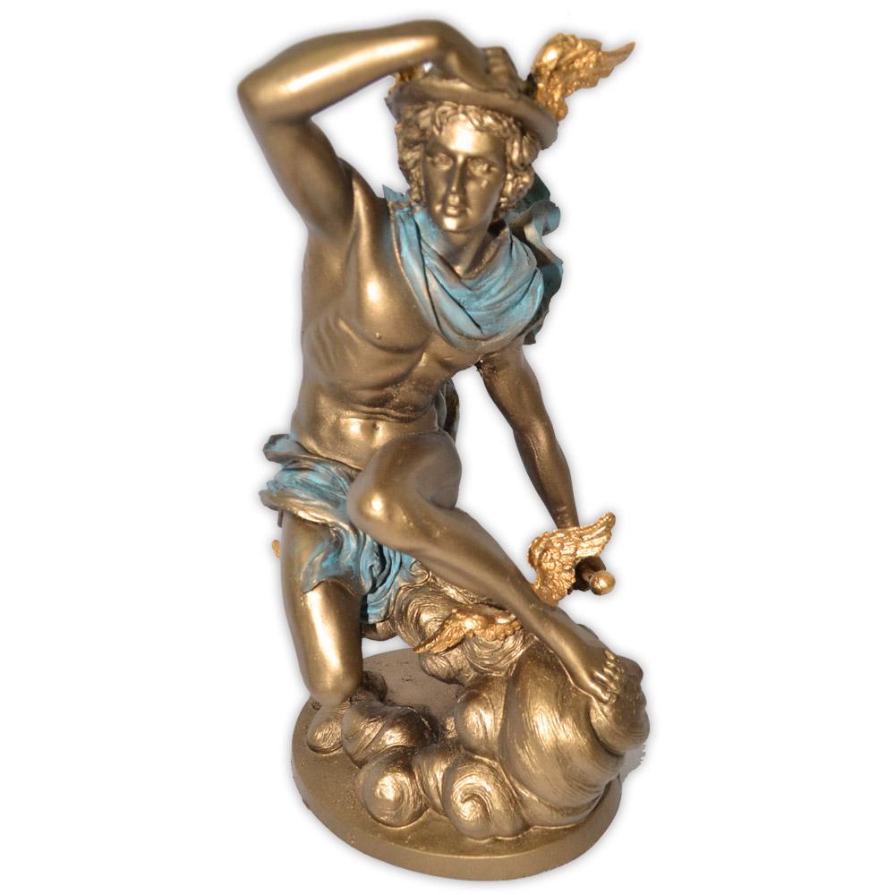 Hermes, Deus das Comunicações e Viagens - Dourado
